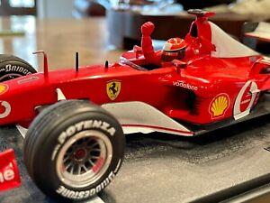 Hot Wheels 1:18 Michael Schumacher F1 Ferrari Die Cast 150 Ferrari wins - Canada