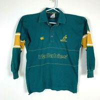 Australia Wallabies Canterbury Vintage Long Sleeve Jersey Shirt Size Men's Small