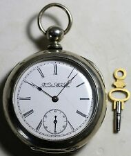 RARE E Howard Boston Series 2 Pocket Watch Low S/N Running SERVICED