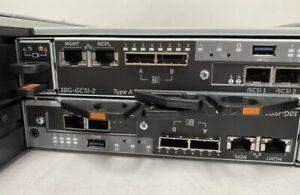 Dell Compellent SC4020 10GbE iSCSI Storage 6X 1.92TB SSD 15x1.2TB 2x 10G-iSCSI-2
