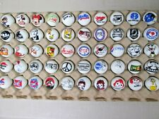 Super Nice Lot of 50 Farm Tractor Advertising Marbles Tray 2