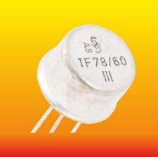 TF78/60 LOT OF 2 SIEMENS GERMANIUM PNP TRANSISTOR 2.7 W 0.6 A ~2SB18 ADY11