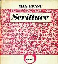 SCRITTURE - MAX ERNST - RIZZOLI 1972