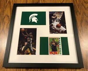 Jason Richardson Signed Autograph Autographed Framed MICHIGAN STATE Basketball