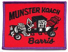 Munster Koach Barris  - Iron on patch - Embroidered Applique