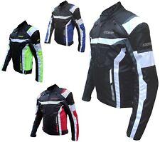 Giacca Tessuto Moto Cordura Impermeabile Sport Touring Termica Sfoderabile APW