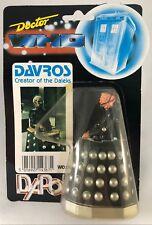 1980s DAPOL Doctor Who DAVROS figure (TWO ARMS!) dalek RARE vintage