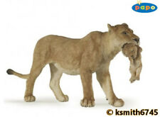 Papo LION & CUB solid plastic toy figure wild zoo animal lioness cat * NEW *💥