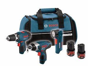 Bosch CLPK30-120 12-Volt Max Lithium-Ion 3-Tool Combo Kit (CLPK30-120-STORE)