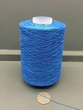 200g 2 / 30nm 100% fils de soie, bleu
