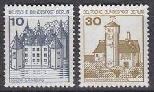 Berlin LT 532 A II + 534 A II  ** Letterset postfrisch  Sehenswürdigkeiten 1977