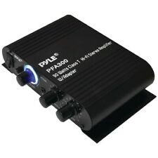 PYLE PFA300 90-Watt Class-T HiFi Stereo Amplifier with line-in,Mic-in,AC Adapter