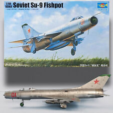 TRUMPETER 1/48 SUKHOI SU-9 FISHPOT SOVIET COLD WAR FIGHTER KIT
