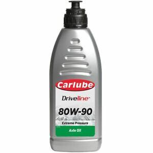 Carlube XEY011 Gear Oil Lubricant Automotive Care Ep 80W90 1 Litre Ltr