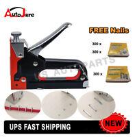Power Tool - Heavy Duty Nail Staple Gun Upholstery Stapler for Furniture Wood