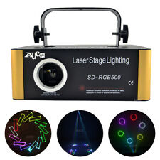 TF Program Animation Scan RGB Projector Laser Lights DMX DJ Party Stage Lighting