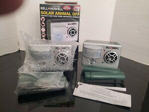 Lot Of 2 Bell & Howell Solar Animal Off Advanced super speaker New (open Box)