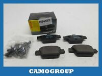 Pills Rear Brake Pads Pad Bosch For FIAT Stilo Bravo 2