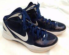 NIKE HYPERDUNK Mens size 8.5 Zoom Navy Blue 454150-401 Basketball Shoes MINT