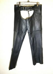 Black Love Leathers Vancouver WA Women's Motorcycle Chaps Size 14