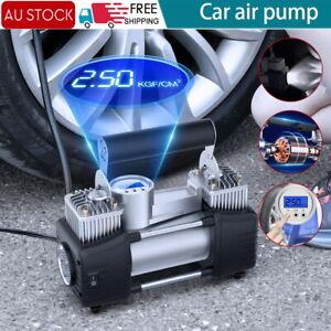 Portable 12V Car Air Compressor Tire Pump Tyre Inflator Auto 300PSI HEAVY DUTY