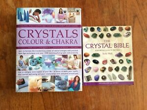 The Magic of Crystals Colour and Chakra The Crystal Bible 2 Books Judy Hall