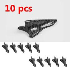10PCS shark fins wings Empennage Car Rear Tail  Diffuser  Vortex Generator black