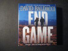 END GAME David Baldacci Unabridged Book on CD Will Robie Series 2017 Brand New