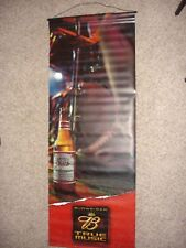 "Budweiser Beer True Music vinyl sign banner 60"" x 22"" double sided"