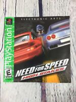 Playstation 1 Instruction Manual Only - Need for Speed High Stakes / PS1 PS One