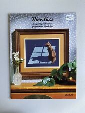 Nine Lives Designed By Judy Mason For Graphique Needle Arts Cross stitch pattern