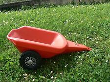 NUOVO Rolly Toys rimorchio rosso
