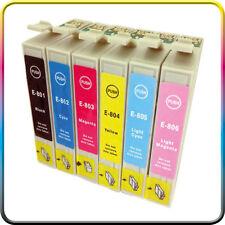 6 cartuchos Non-Oem XL para Epson px700w px710w px720wd
