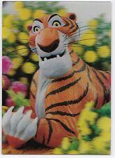 3D 3 D lenticular postcard Shere Khan 1966 Disney unused W C Jones Jungle Book