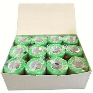 12x Haftbandage Hellgrün 5cm Flex Bandage selbsthaftend Verband ca.4,5m