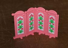 Playmobil princesses paravent rose 4 pans 4252