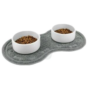 Small Cat Dog Bowl Mat Easy to Clean Non-slip Hight Protection