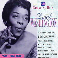 NEW - 50 Greatest Hits by WASHINGTON,DINAH