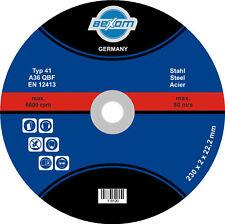 TRENNSCHEIBE 230x2mm   Metall, Stahl & Eisen   25 Stück