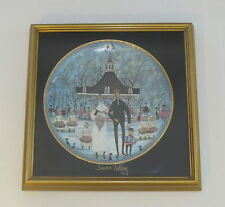 Anna Perenna  P BUCKLEY MOSS  Summer Wedding Collector Plate and Frame COA