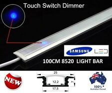 100CM TOUCH CONTROL DIMMABLE LED STRIP LIGHT BAR 240V KIT KITCHEN HOME CARAVAN