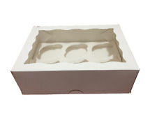 Cake Boxes 1/2/4/6/12/24 Holes Window Face Cupcake Boxes Boards Wedding Favours