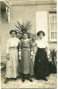 Orig. Foto KOGENHEIM /SÉLETSTAT ERSTEIN /ELSASS /ALSACE GRAND EST 3 Frauen 1912