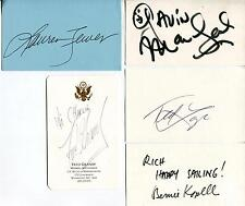 THE LOVE BOAT TV CAST GAVIN MACLEOD LAUREN TEWES TED LANGE FRED GRANDY AUTOGRAPH