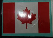 CANADIAN  FLAG JEEP LAND ROVER VEHICLE  STICKER