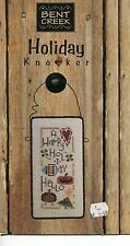 Cross Stitch Chart - Bent Creek - Holiday Knocker