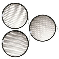 3 x 40° 50° 60° Honeycomb Grid Mesh for 7-inch Reflector Diffuser Lamp Shade