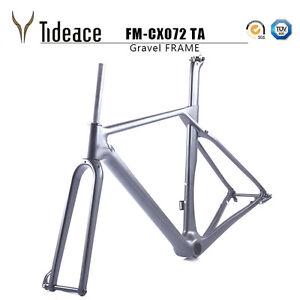 Full Carbon Bike Frame Carbon Gravel Bicycle Frameset Track Frames OEM Frames