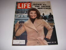 LIFE MAGAZINE, March 31, 1972, JACKIE KENNEDY COVER, AL PACINO - THE GODFATHER!