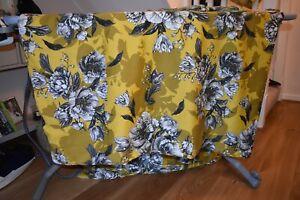 Next king size bedding set duvet cover 2 pillowcases Yellows/gold black